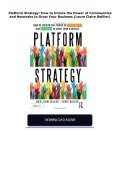 Platform Strategy: How to Unlock the Power of Communities and Networks to Grow Your Business (Laure Claire Reillier) - Page 2
