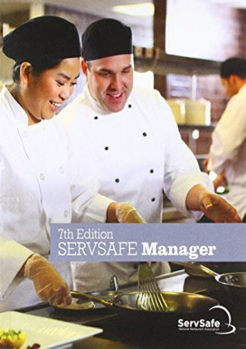 ServSafe ManagerBook with Answer Sheet (7th Edition) (National Restaurant Association)