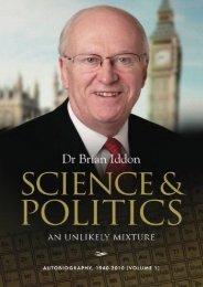 Science   Politics: An Unlikely Mixture (Dr Brian Iddon)