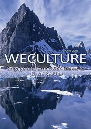 WeCulture: Engage and Empower Teams to Drive Results (Chris Ciulla)
