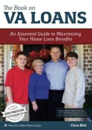 The Book on VA Loans - COS*: An Essential Guide to Maximizing Your Home Loan (Chris Birk)