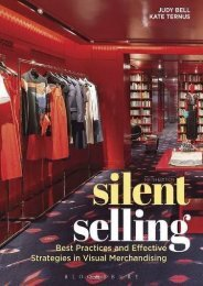 Silent Selling: Best Practices and Effective Strategies in Visual Merchandising (Judy Bell)