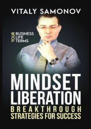 Mindset Liberation: Breakthrough Strategies For Success (Vitaly Samonov Mr)