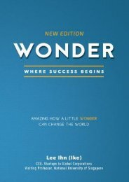 Wonder: Amazing how a little wonder can change the world (Lee Ihn (Ike))