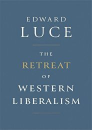 The Retreat of Western Liberalism ()
