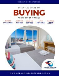BUYING IN TURKEY E-GUIDE