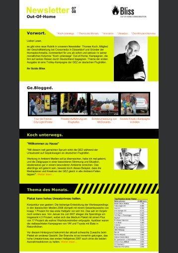 Newsletter 07 - planus media GmbH