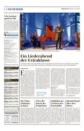 Ein Liederabend der Extraklasse, Südostschweiz, 14.08.2017