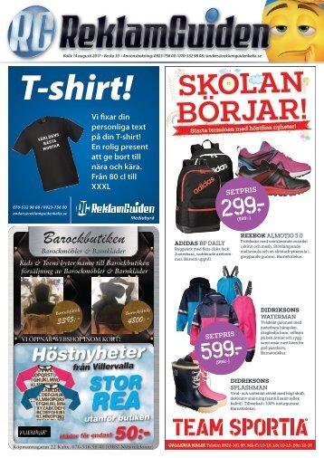 ReklamGuiden Kalix v33 -17 (14/8-20/8)