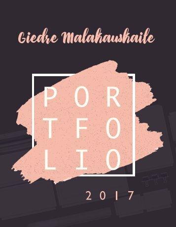 Potfolio by Giedre Malakauskaite