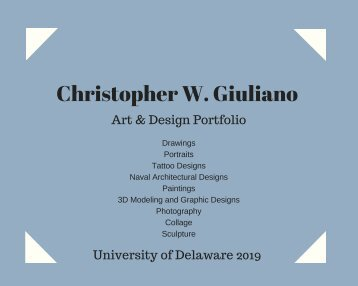 Christopher Giuliano Portfolio