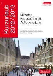 Jetzt buchen! - Stadt Münster