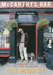 McCarthy s Bar: A Journey of Discovery In Ireland