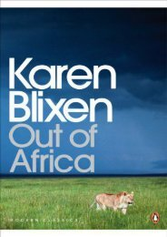 Modern Classics Out of Africa (Penguin Modern Classics)