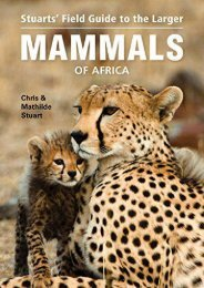 Field Guide to the Larger Mammals of Africa (Field Guides)