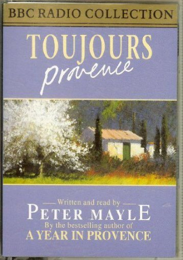 Toujours Provence (BBC Radio Collection)