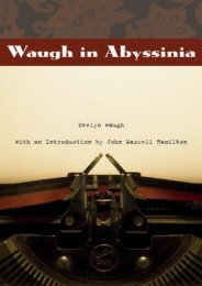 Waugh in Abyssinia (From Our Own Correspondent)