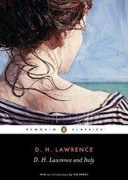 D. H. Lawrence and Italy: Sketches from Etruscan Places, Sea and Sardinia, Twilight in Italy (Penguin Classics)