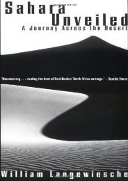 Sahara Unveiled: A Journey Across the Desert (Vintage Departures)