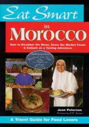 Eat Smart in Morocco: How to Decipher the Menu, Know the Market Foods   Embark on a Tasting Adventure