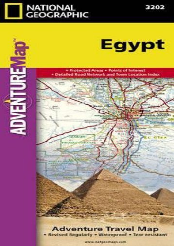 Egypt (National Geographic Adventure Map)