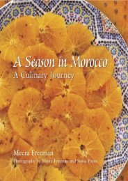 A Season in Morocco: Recipes   Travels
