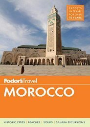 Fodor s Morocco (Full-color Travel Guide)