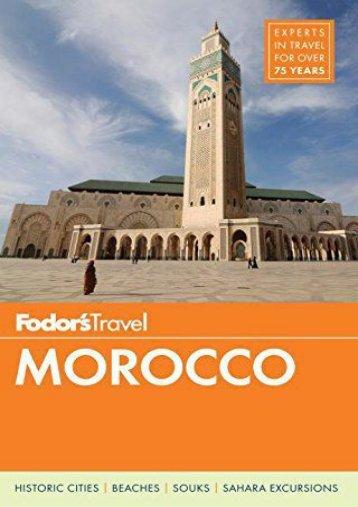 Fodor s Morocco (Full-color Travel Guide)