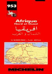Michelin Africa North   West Map No. 953 (Michelin Maps   Atlases)