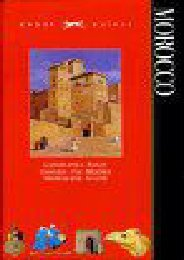 Morocco (Knopf Guides)
