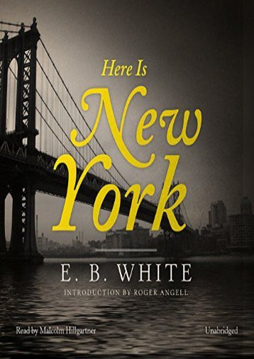 E B  White   American writer   Britannica com Amazon com
