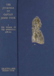 The Journals of Captain James Cook on his Voyages of Discovery: Edited from the Original Manuscripts: Four Volumes and a Portfolio (Pen   Sword Paperback) (Vol 1, 2   3)