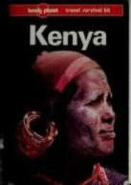 Lonely Planet Kenya (Lonely Planet Travel Survival Kit)