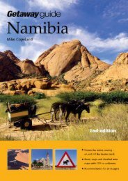 Getaway Guide to Namibia: Second Edition
