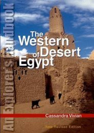 The Western Desert of Egypt: An Explorers Handbook, Revised Edition