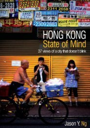 Hong Kong State of Mind: 37 Views of a City That Doesn t Blink