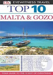 Top 10 Malta and Gozo (Eyewitness Top 10 Travel Guide)