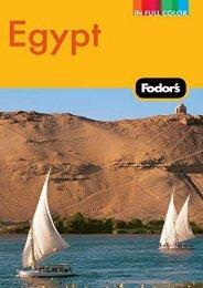Fodor s Egypt (Full-color Travel Guide)