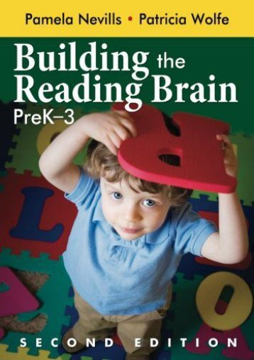 Building the Reading Brain, PreK-3: Volume 2