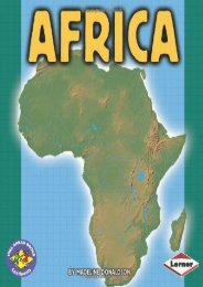 Africa (Pull Ahead Books)