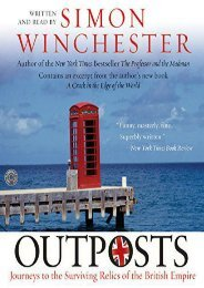 Outposts CD: Journeys to the Surviving Relics of the British Empire