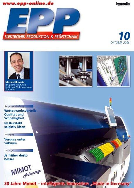"30 Jahre Mimot – intelligente Innovation ""Made in ... - Mimot.com"