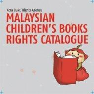 MALAYSIAN CHILDREN'S BOOKS RIGHTS CATALOGUE
