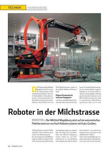 Zertifizierung von kollaborierenden robotersystemen for Koch roboter
