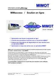MIMaccess / Soutien en ligne - Mimot.com