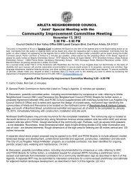 Community Improvement Committee Meeting - Arleta Neighborhood ...