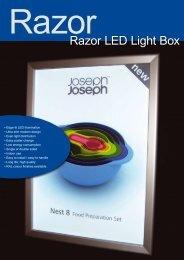 Razor LED Light Box - Katana Ultra Slim Light box