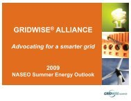GRIDWISE ALLIANCE - National Association of State Energy Officials