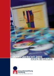 jahresbericht 2006 - Innovationsstiftung Hamburg