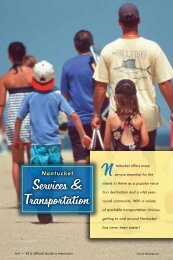 Services & Transportation - Nantucket Island Chamber of Commerce
